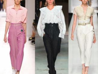 Женские брюки: модные осенние и зимние фасоны