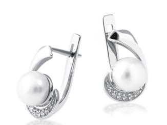Серьги из серебра 925 пробы с камнями: заказать с доставкой