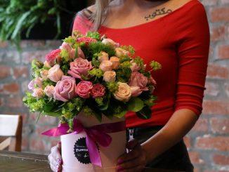 Сервис оригинальных подарков Uflor: доставка цветов в Москве